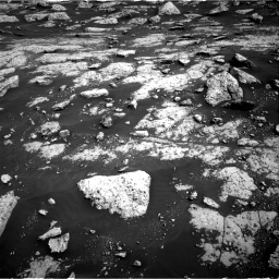 Nasa's Mars rover Curiosity acquired this image using its Right Navigation Camera on Sol 3040, at drive 2260, site number 86