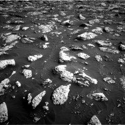 Nasa's Mars rover Curiosity acquired this image using its Left Navigation Camera on Sol 3042, at drive 2350, site number 86