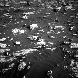 Nasa's Mars rover Curiosity acquired this image using its Left Navigation Camera on Sol 3042, at drive 2566, site number 86