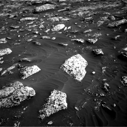 Nasa's Mars rover Curiosity acquired this image using its Right Navigation Camera on Sol 3042, at drive 2404, site number 86