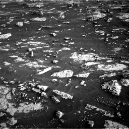 Nasa's Mars rover Curiosity acquired this image using its Right Navigation Camera on Sol 3042, at drive 2518, site number 86