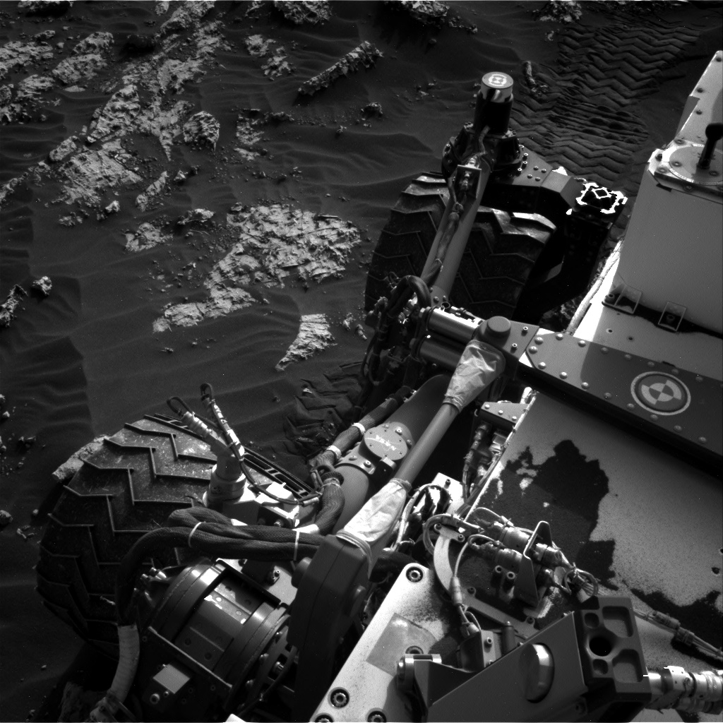 Nasa's Mars rover Curiosity acquired this image using its Right Navigation Camera on Sol 3042, at drive 2596, site number 86