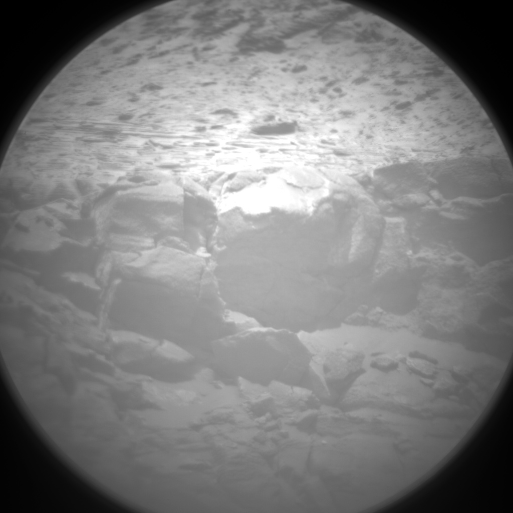 Nasa's Mars rover Curiosity acquired this image using its Chemistry & Camera (ChemCam) on Sol 3044, at drive 2596, site number 86