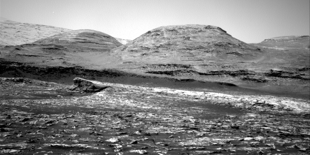 Nasa's Mars rover Curiosity acquired this image using its Right Navigation Camera on Sol 3044, at drive 2596, site number 86