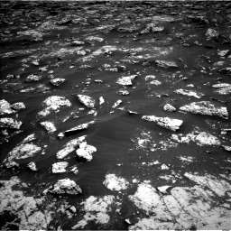 Nasa's Mars rover Curiosity acquired this image using its Left Navigation Camera on Sol 3045, at drive 2614, site number 86