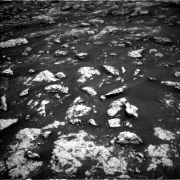 Nasa's Mars rover Curiosity acquired this image using its Left Navigation Camera on Sol 3045, at drive 2620, site number 86