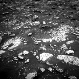 Nasa's Mars rover Curiosity acquired this image using its Left Navigation Camera on Sol 3045, at drive 2704, site number 86