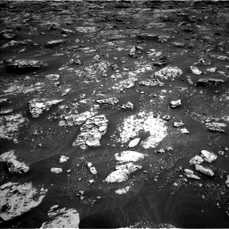 Nasa's Mars rover Curiosity acquired this image using its Left Navigation Camera on Sol 3045, at drive 2716, site number 86