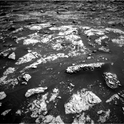 Nasa's Mars rover Curiosity acquired this image using its Left Navigation Camera on Sol 3045, at drive 2818, site number 86