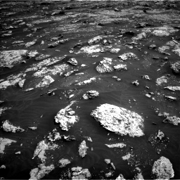 Nasa's Mars rover Curiosity acquired this image using its Left Navigation Camera on Sol 3045, at drive 2842, site number 86