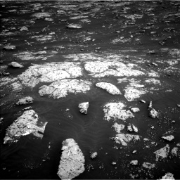 Nasa's Mars rover Curiosity acquired this image using its Left Navigation Camera on Sol 3045, at drive 2896, site number 86
