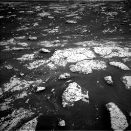 Nasa's Mars rover Curiosity acquired this image using its Left Navigation Camera on Sol 3045, at drive 2902, site number 86