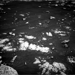Nasa's Mars rover Curiosity acquired this image using its Left Navigation Camera on Sol 3045, at drive 2950, site number 86