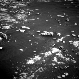 Nasa's Mars rover Curiosity acquired this image using its Left Navigation Camera on Sol 3045, at drive 2968, site number 86
