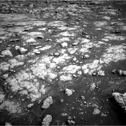 Nasa's Mars rover Curiosity acquired this image using its Left Navigation Camera on Sol 3045, at drive 3004, site number 86