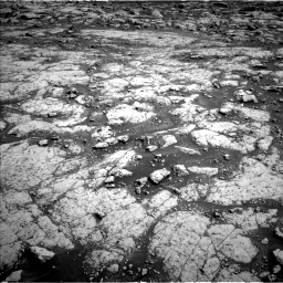 Nasa's Mars rover Curiosity acquired this image using its Left Navigation Camera on Sol 3045, at drive 3028, site number 86
