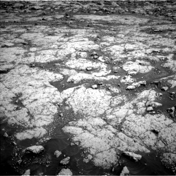 Nasa's Mars rover Curiosity acquired this image using its Left Navigation Camera on Sol 3045, at drive 3034, site number 86