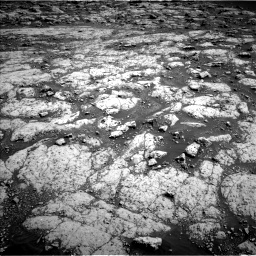 Nasa's Mars rover Curiosity acquired this image using its Left Navigation Camera on Sol 3045, at drive 3046, site number 86