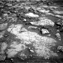 Nasa's Mars rover Curiosity acquired this image using its Left Navigation Camera on Sol 3045, at drive 3170, site number 86