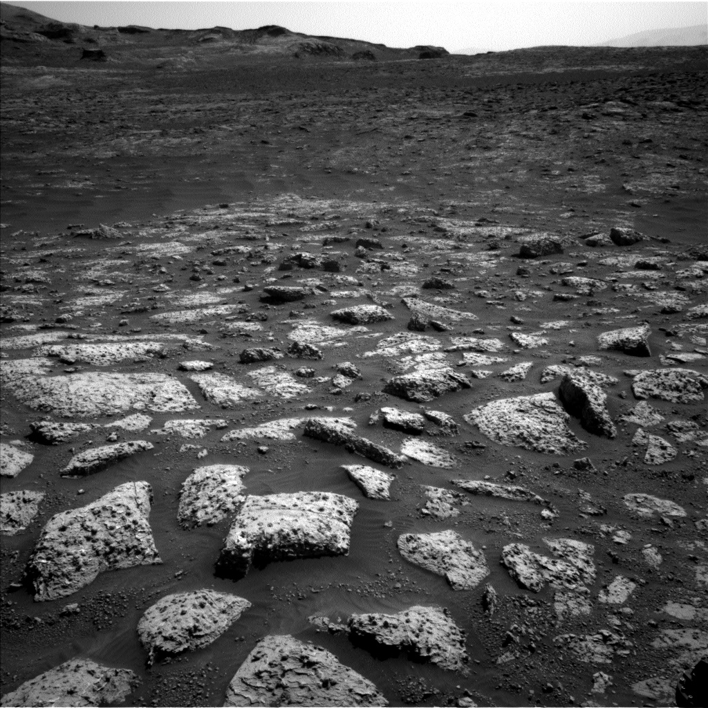 Nasa's Mars rover Curiosity acquired this image using its Left Navigation Camera on Sol 3045, at drive 0, site number 87