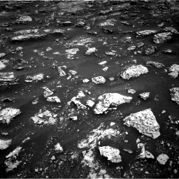 Nasa's Mars rover Curiosity acquired this image using its Right Navigation Camera on Sol 3045, at drive 2668, site number 86