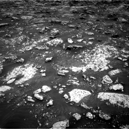 Nasa's Mars rover Curiosity acquired this image using its Right Navigation Camera on Sol 3045, at drive 2710, site number 86