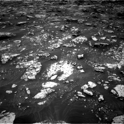 Nasa's Mars rover Curiosity acquired this image using its Right Navigation Camera on Sol 3045, at drive 2716, site number 86