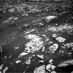 Nasa's Mars rover Curiosity acquired this image using its Right Navigation Camera on Sol 3045, at drive 2746, site number 86