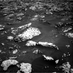 Nasa's Mars rover Curiosity acquired this image using its Right Navigation Camera on Sol 3045, at drive 2758, site number 86