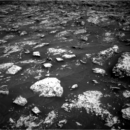 Nasa's Mars rover Curiosity acquired this image using its Right Navigation Camera on Sol 3045, at drive 2770, site number 86