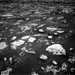 Nasa's Mars rover Curiosity acquired this image using its Right Navigation Camera on Sol 3045, at drive 2776, site number 86