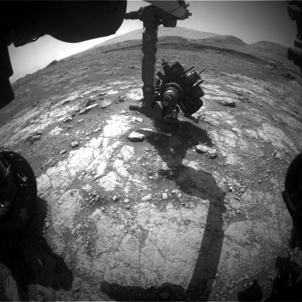 Nasa's Mars rover Curiosity acquired this image using its Front Hazard Avoidance Camera (Front Hazcam) on Sol 3047, at drive 0, site number 87
