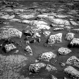 Nasa's Mars rover Curiosity acquired this image using its Left Navigation Camera on Sol 3047, at drive 12, site number 87