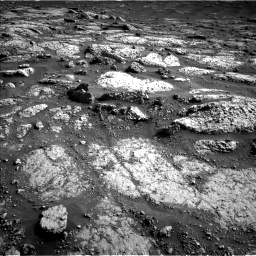 Nasa's Mars rover Curiosity acquired this image using its Left Navigation Camera on Sol 3047, at drive 30, site number 87