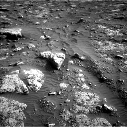 Nasa's Mars rover Curiosity acquired this image using its Left Navigation Camera on Sol 3047, at drive 336, site number 87