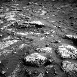 Nasa's Mars rover Curiosity acquired this image using its Left Navigation Camera on Sol 3047, at drive 348, site number 87