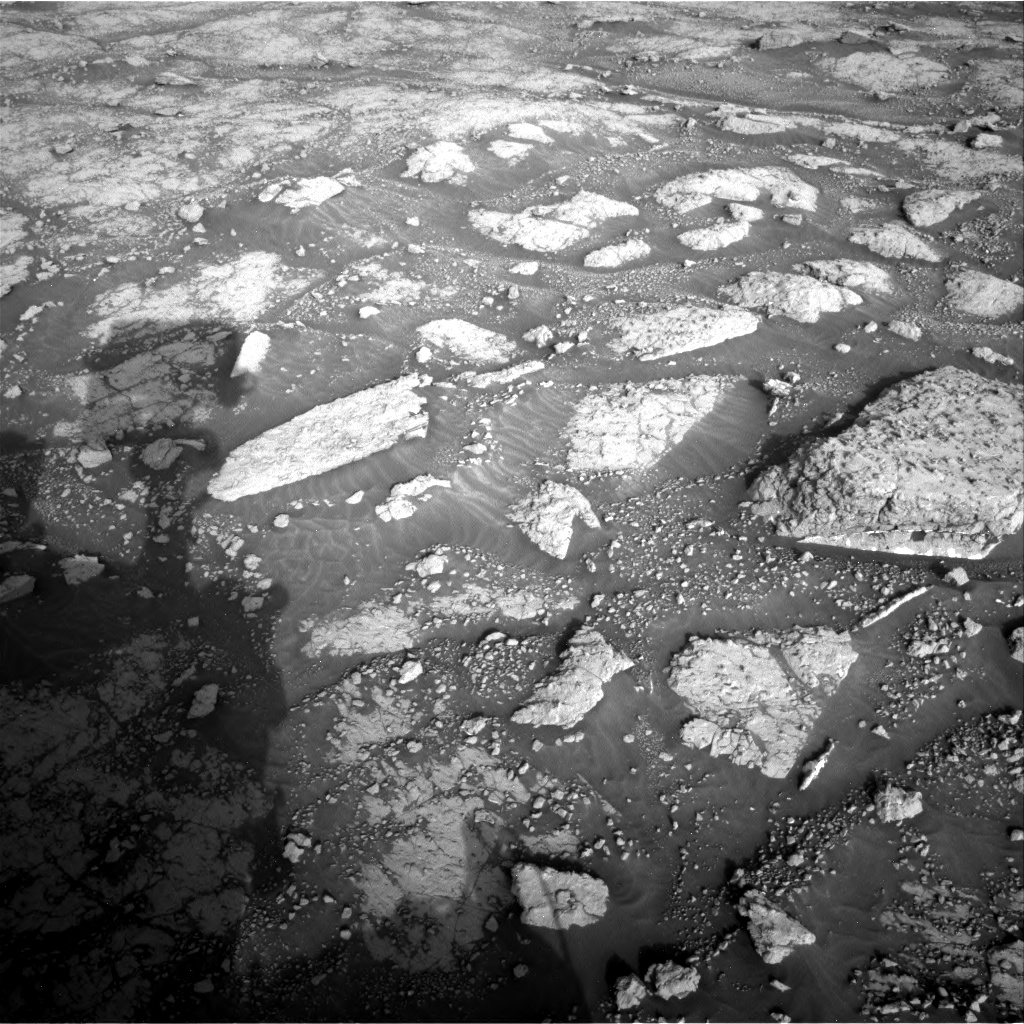 Nasa's Mars rover Curiosity acquired this image using its Right Navigation Camera on Sol 3047, at drive 384, site number 87