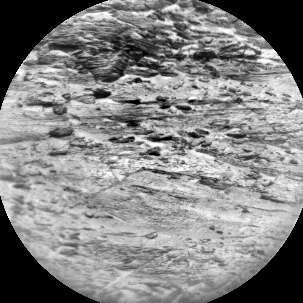 Nasa's Mars rover Curiosity acquired this image using its Chemistry & Camera (ChemCam) on Sol 3047, at drive 0, site number 87