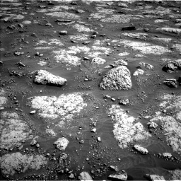 Nasa's Mars rover Curiosity acquired this image using its Left Navigation Camera on Sol 3049, at drive 492, site number 87