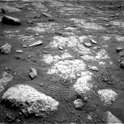 Nasa's Mars rover Curiosity acquired this image using its Left Navigation Camera on Sol 3049, at drive 510, site number 87