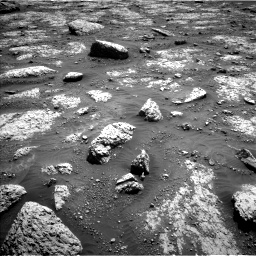 Nasa's Mars rover Curiosity acquired this image using its Left Navigation Camera on Sol 3049, at drive 522, site number 87