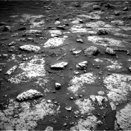 Nasa's Mars rover Curiosity acquired this image using its Left Navigation Camera on Sol 3049, at drive 606, site number 87