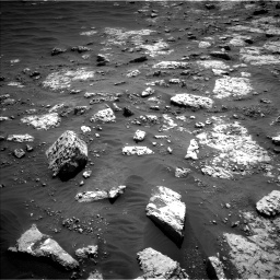 Nasa's Mars rover Curiosity acquired this image using its Left Navigation Camera on Sol 3049, at drive 618, site number 87