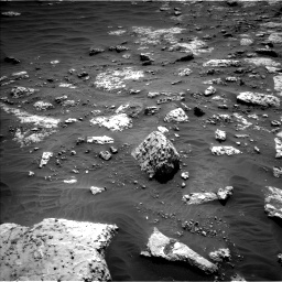 Nasa's Mars rover Curiosity acquired this image using its Left Navigation Camera on Sol 3049, at drive 624, site number 87