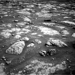 Nasa's Mars rover Curiosity acquired this image using its Right Navigation Camera on Sol 3049, at drive 450, site number 87