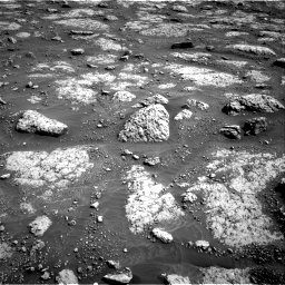 Nasa's Mars rover Curiosity acquired this image using its Right Navigation Camera on Sol 3049, at drive 492, site number 87