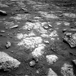 Nasa's Mars rover Curiosity acquired this image using its Right Navigation Camera on Sol 3049, at drive 510, site number 87