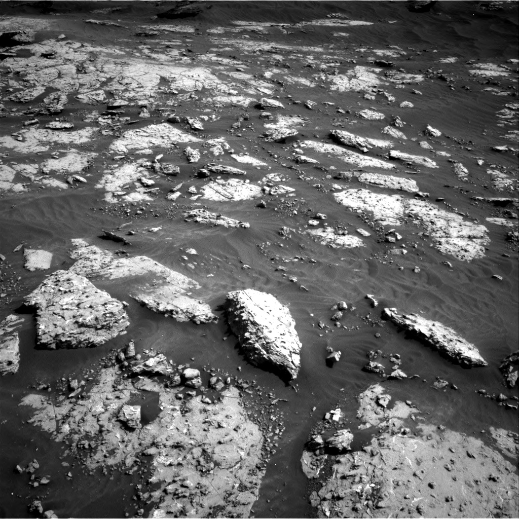 Nasa's Mars rover Curiosity acquired this image using its Right Navigation Camera on Sol 3049, at drive 654, site number 87