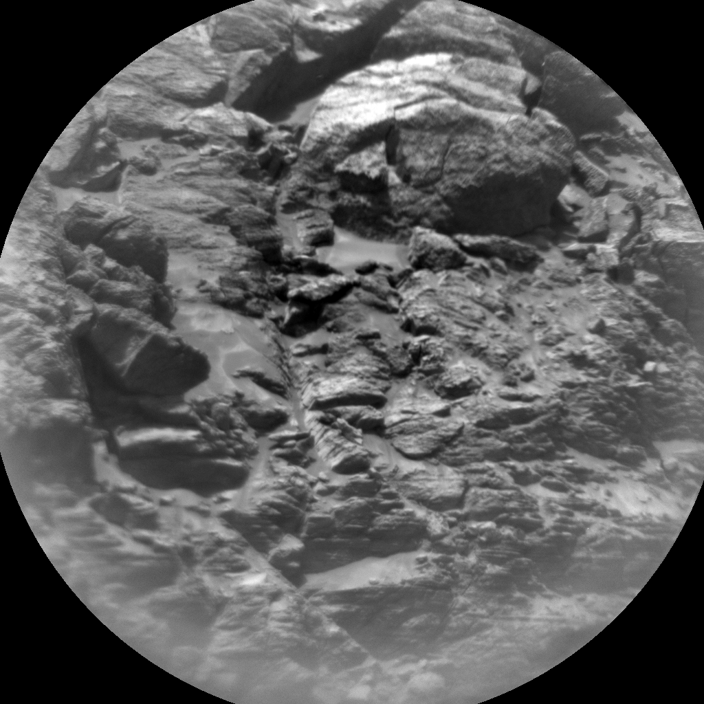 Nasa's Mars rover Curiosity acquired this image using its Chemistry & Camera (ChemCam) on Sol 3049, at drive 420, site number 87