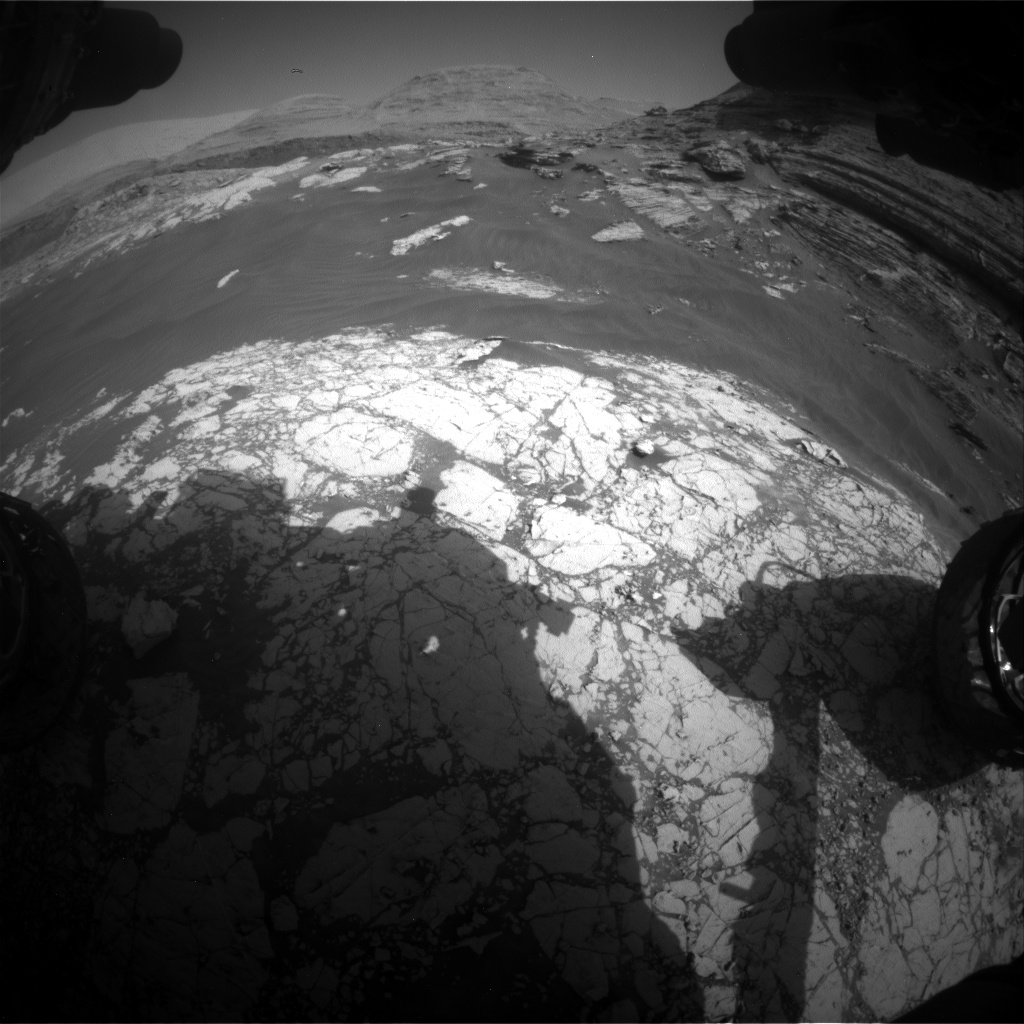 Nasa's Mars rover Curiosity acquired this image using its Front Hazard Avoidance Camera (Front Hazcam) on Sol 3052, at drive 792, site number 87